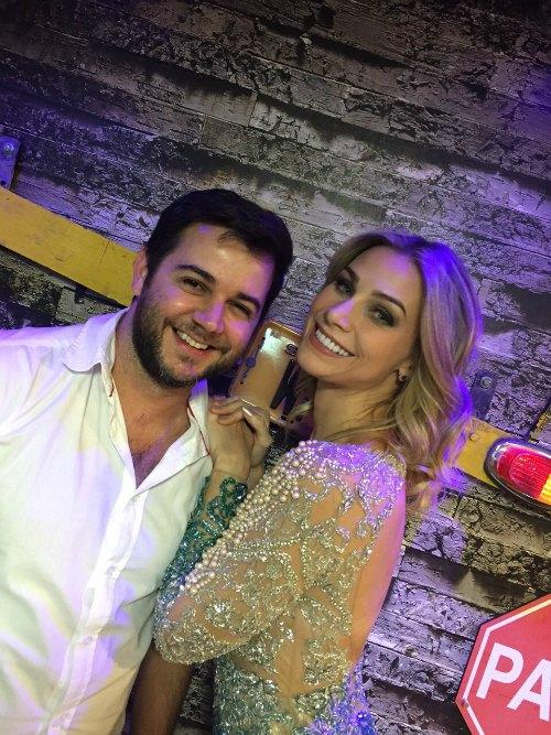 Heracliton Diniz e Manoela Furtado Créditos: Divulgação