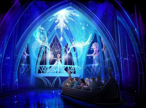 """Perspectiva de como será o """"Frozen Ever After"""". Crédito: Walt Disney World/Divulgação"""