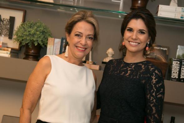 Marcia Nejaim e Suzana Azevedo - Crédito: Tatiana Sotero/DP/D.A Press