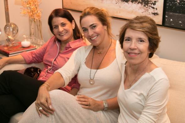Eliane Guerra, Marilu Fontes e Marilene Vasconcelos - Crédito: Tatiana Sotero/DP/D.A Press