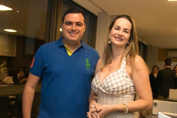 Felipe Forato e Tita Barretto - Crédito: Tatiana Sotero/DP/D.A Press