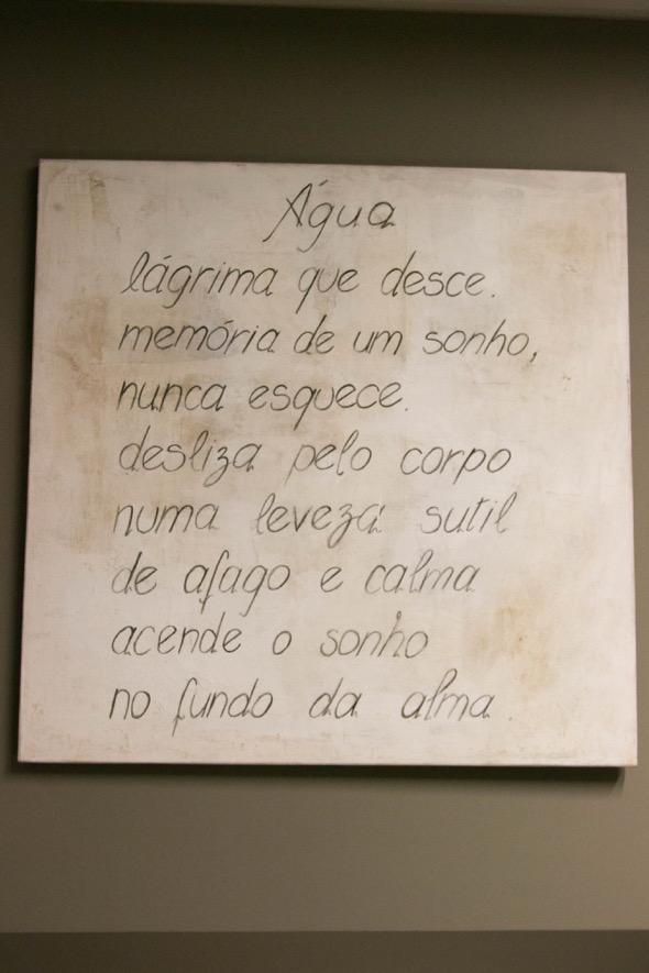 Poema escrito por Chicão Trindade - Crédito: Tatiana Sotero/DP/D.A Press
