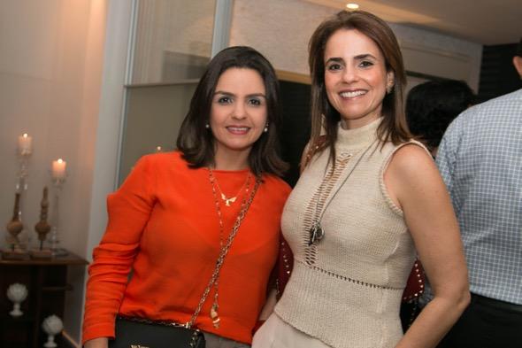 Ana Paula Souza e Tatiana Pontes - Crédito: Tatiana Sotero/DP/D.A Press