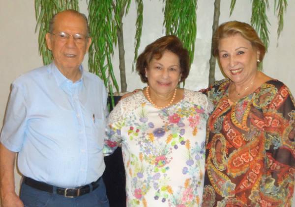Zezito Maciel, Ana Maria Maciel e  Leda Barros Lima/Fernando Machado
