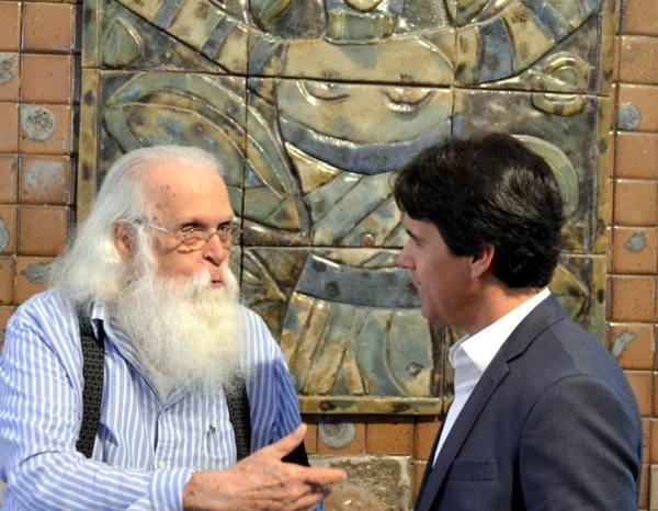 Francisco Brennand e Aldo Guedes