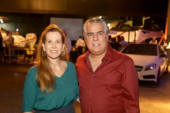 Andréa e José Pinteiro. Crédito: Guilherme Paiva