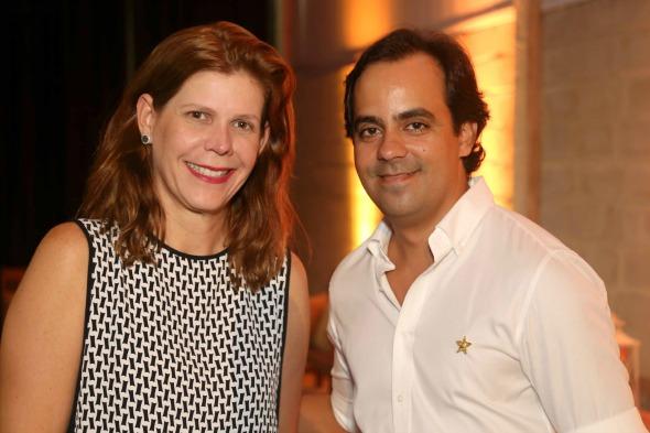 Carol Boxwell e Rafael Accioly. Crédito: Guilherme Paiva