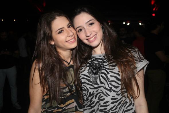 Fernanda Antunes e Luiza Bortolazo  - Crédito: Vinicius Ramos/Divulgação