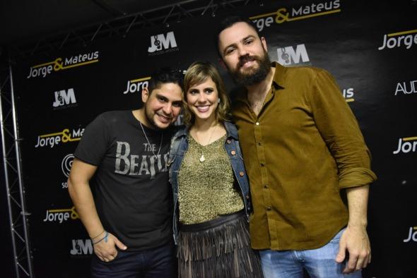 Jorge, Eduarda Dubeux e Mateus - Crédito: Luiz Fabiano/Divulgação