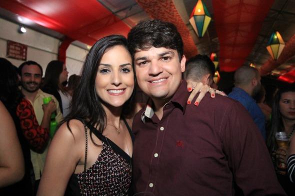 Mariana Tenório e Harlan Vasconcelos - Crédito: Luiz Fabiano/Divulgação