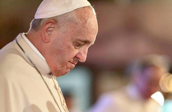Papa Francisco. Crédito: Benhur Arcayan/Divulgação