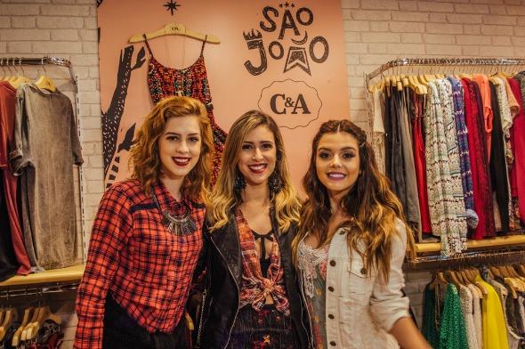 Sophia Abrahão, Dany Khadydja e Giovanna Lancellotti - Crédito: Roberto Brito/Divulgação