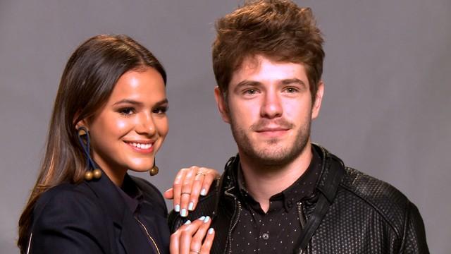 Bruna Marquezine e Mauricio Destri - Crédito: Divulgação/TV Globo