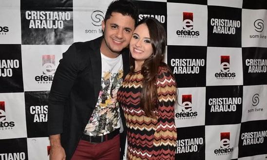 Cristiano Araujo e Allana Moraes - Crédito: Movimento Country/Divulgação