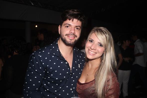 Rafael Prado e Rubia Ravide Créditos: Vinicius Ramos/ Vagalume COmunicação