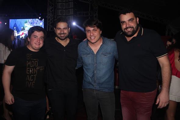 Os produtores do evento Créditos: Vinicius Ramos/ Vagalume Comunicação