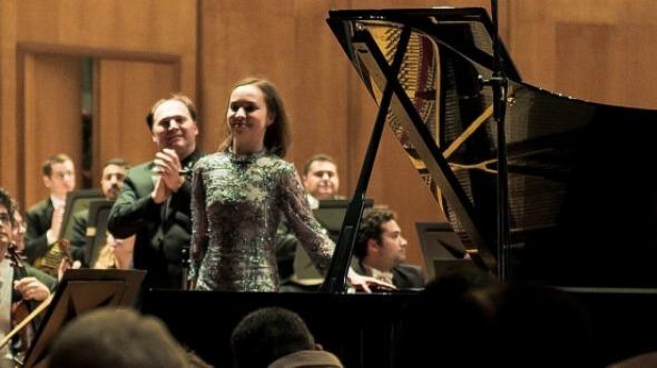A pianista russa Daria Kiseleva. Crédito: Divulgação