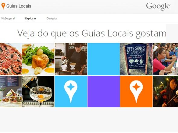 """Interface do app """"Guias Locais"""". Crédito: Reprodução"""