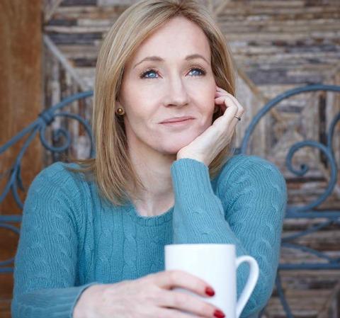 J.K. Rowling. Crédito: Reprodução Facebook