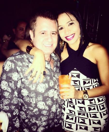 Marrone com fã, no Villarena. Crédito: Reprodução Instagram