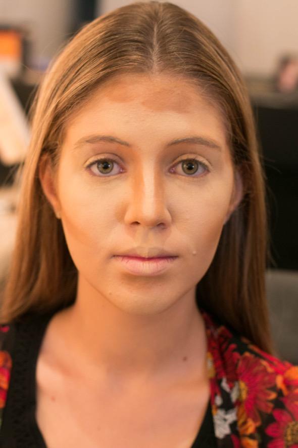 Maquiagem contorno - Crédito: Tatiana Sotero/DP/D.A Press