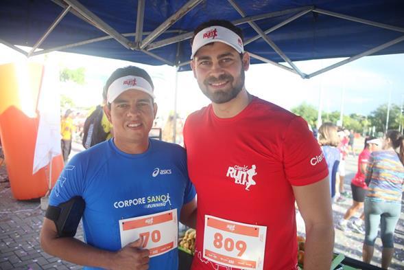 Clebson Barros e Daniel Cavalcanti. Crédito: Vinícius Ramos