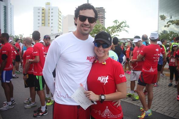 Rafael Figlioulo e Renata Marques. Crédito: Vinícius Ramos