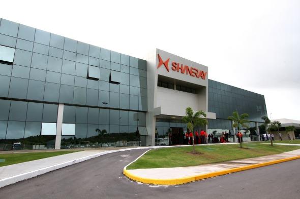 Fábrica da Shineray, em Suape - Crédito: Paulo Paiva/DP/D.A Press