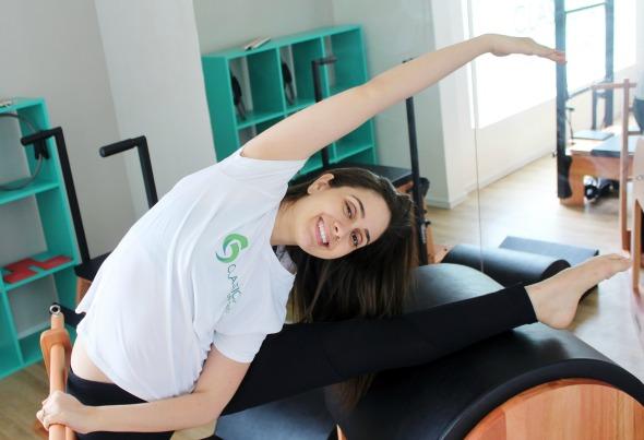 A fisioterapeuta Ana Carolina Aretakis, à frente do Classical Pilates Studio. Crédito: Divulgação