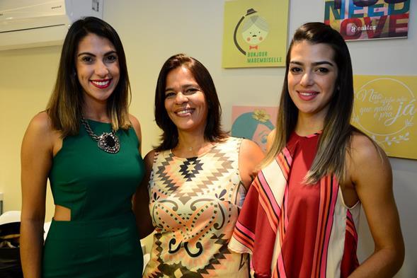 Rafaela Lucena, Anary Paiva e Manuela Souza. Crédito: Gabriel Pontual/Divulgação