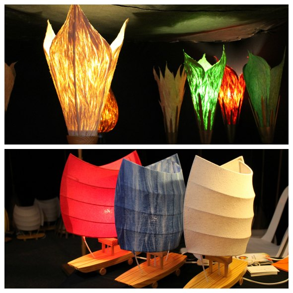 As luminárias da Ophicina de Criações Créditos: Taís Machado/DP/DA Press