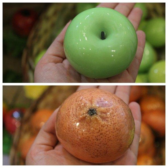 Sabonetes artísticos em formato de frutas Créditos: Taís Machado/ DP/D.A Press