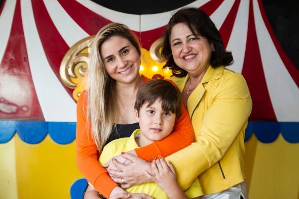 Mariana Perylo, Keila Benício e Luiz Felipe. Crédito: Thais Carvalho/Divulgação