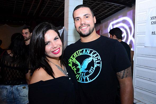 Day Noronha e Savio Carvalho. Crédito: Gabriel Pontual/Divulgação