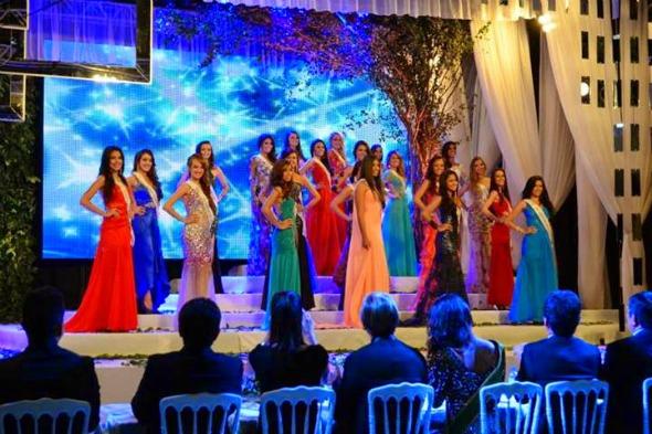 Miss Pernambuco . Crédito: Divulgação do evento