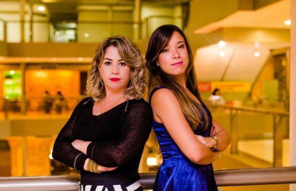 Ana Karla e Amanda Marinho. Crédito: Divulgação