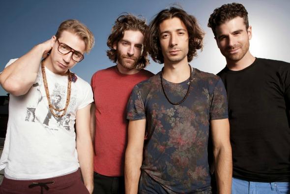 Os canadenses vão fazer um show em Porto Alegre, em setembro Créditos: divulgação