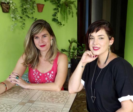 Marina Almeida, da Soslayo, e Isabela Vilaça, da Xique-Xique. Crédito: Divulgação