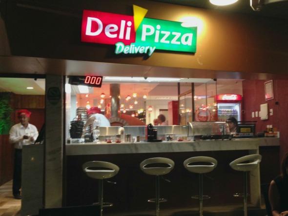 Deli Pizza. Crédito: Divulgação