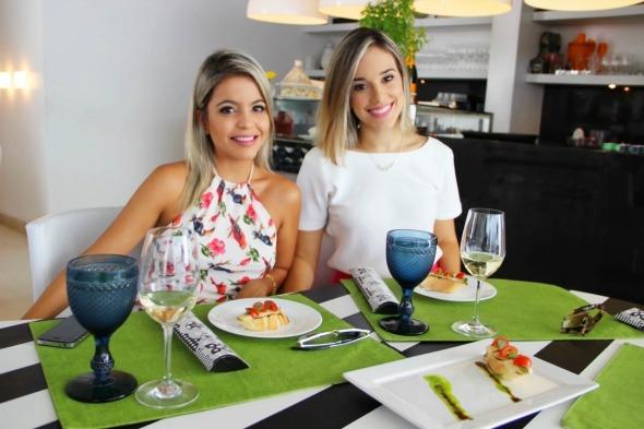 Bruna Paz e Tainá Alencar armam evento neste sábado Créditos: Divulgação