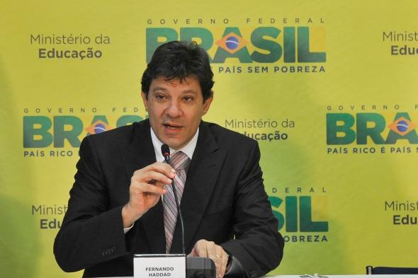 Fernando Haddad - Crédito: Agência Brasil/Divulgação
