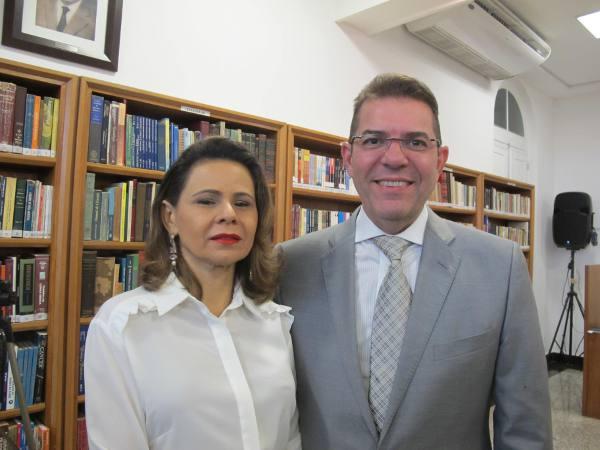Ariadne e o desembargador federal Marcelo Navarro