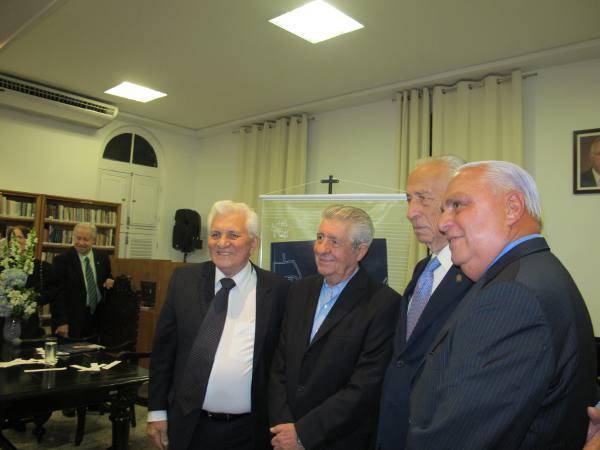 Waldênio Porto, Alberto Ferreira da Costa, Arménio Dias e Carlos Moraes