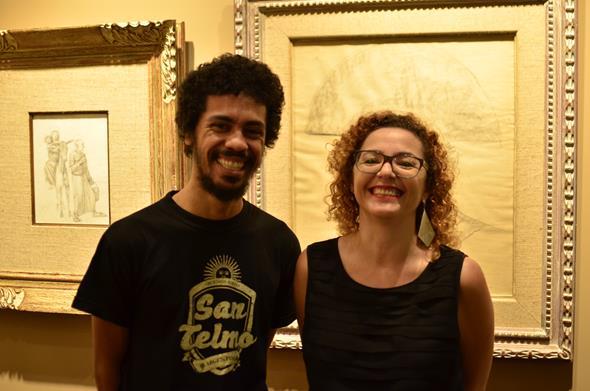 Jota Zeroff e Claudinha Aires. Crédito: Renata Pires/Divulgação