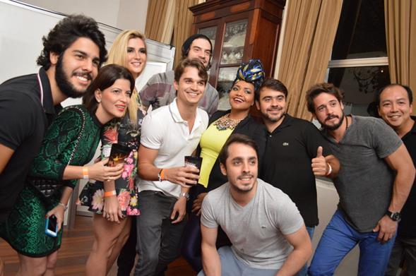 Jurados, Alexandre Costa (diretor Skol) e Marcio Aguiar (gerente MKT Ambev Recife). Crédito: Felipe Souto Maior/Ag News