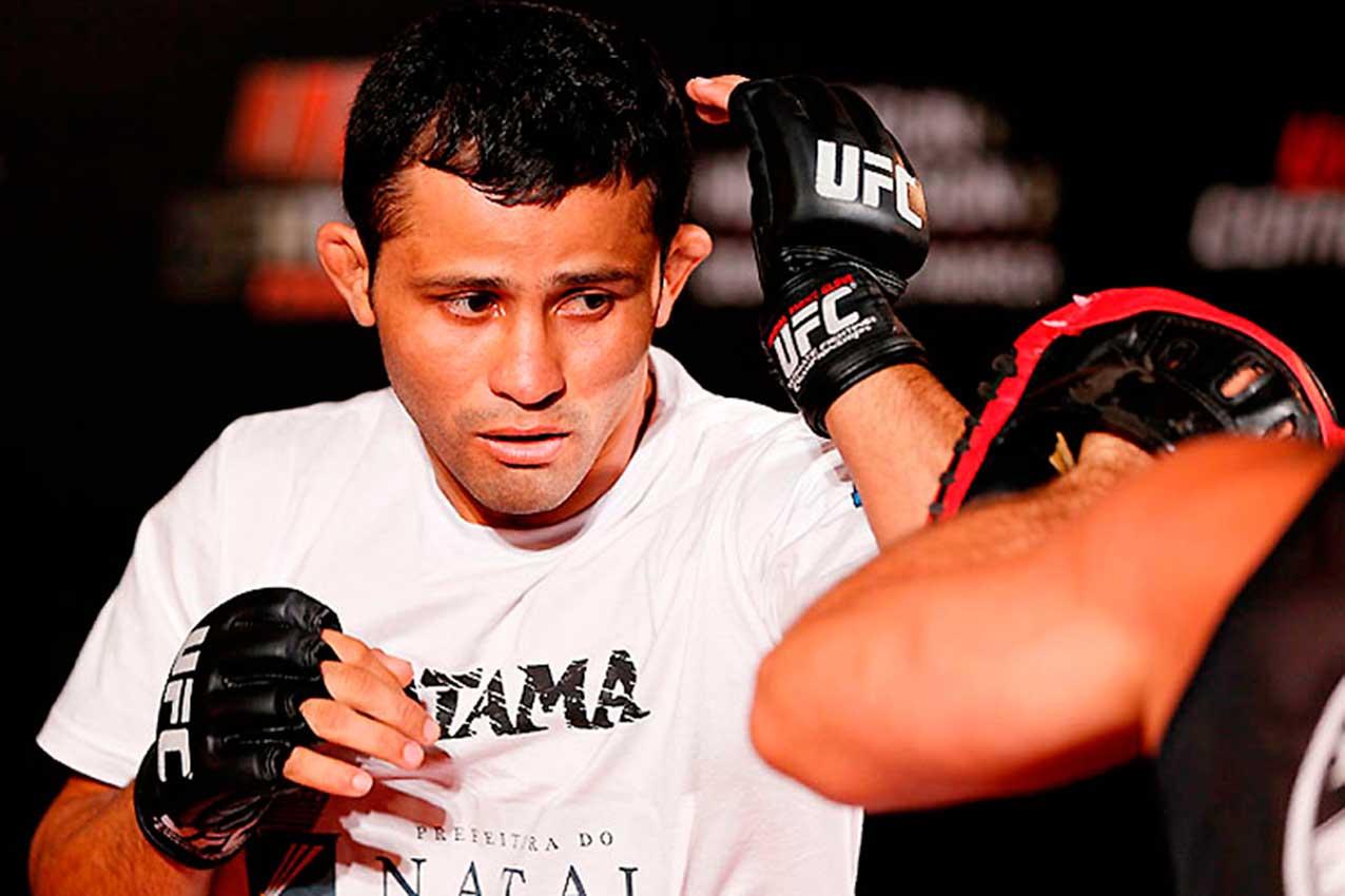 Jussier Formiga - Crédito: UFC/Divulgação