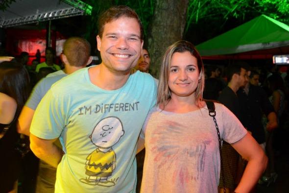 Bruno Alcântara e Juliana Cavalcanti. Crédito: Gabriel Pontual/Divulgação