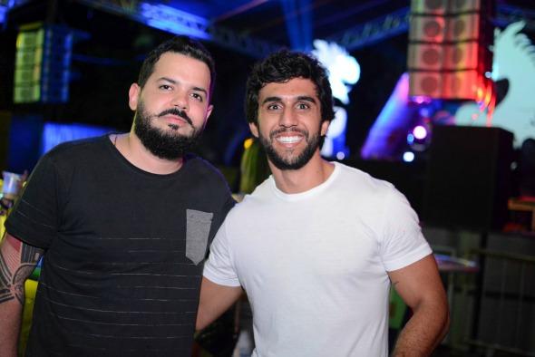 Rafael Infa e Henrique Gomes. Crédito: Gabriel Pontual/Divulgação