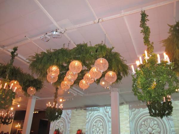 A decoração