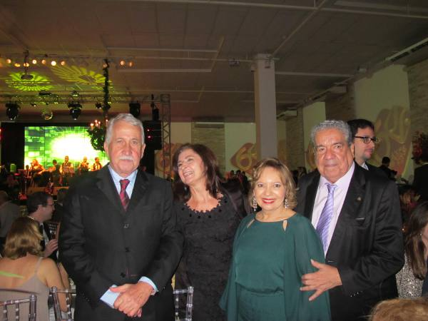 Antônio Jayme da Fonte, Marilene Ararura, Neide Marques e Joezil Barros